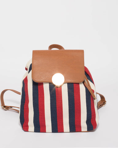 Multi Colour Amelie Backpack