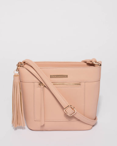 Pink April Crossbody Bag