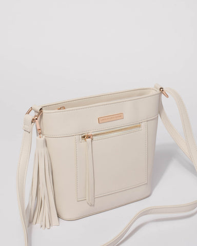 White April Crossbody Bag