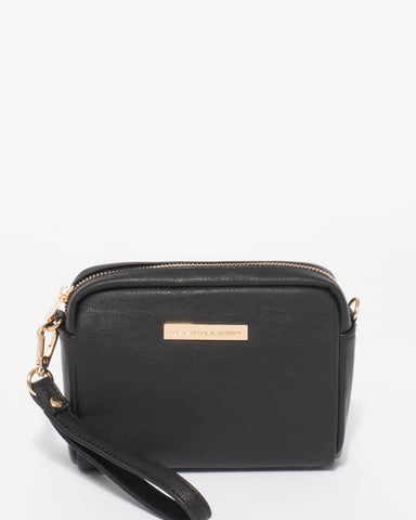 Black Suri Crossbody Bag