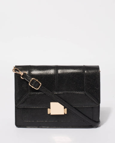 Black Eileen Crossbody Bag