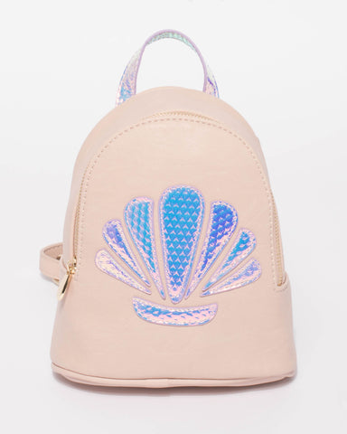 Pink Kids Shell Backpack