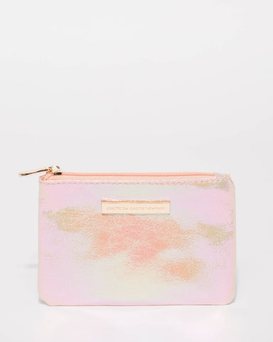 Pink Sequin Sia Coin Purse