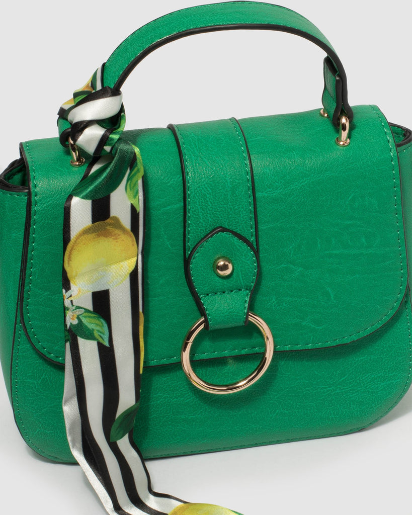 Green Alisa Mini Bag