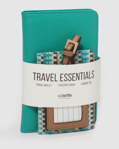 Teal Multi Vacay Travel Pack