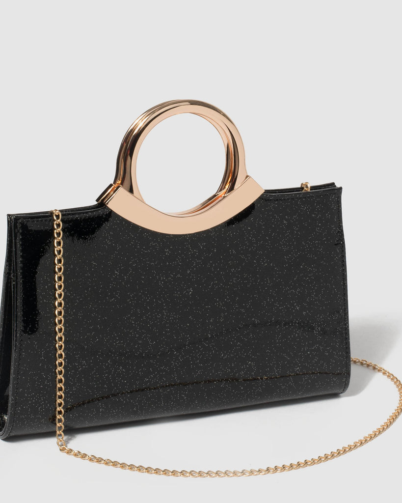 Black Anaelle Clutch Bag