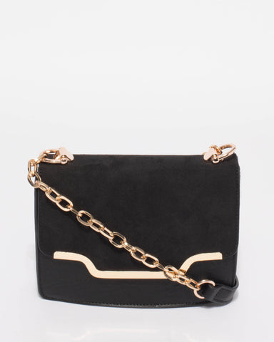 Black Vanessa Crossbody Bag