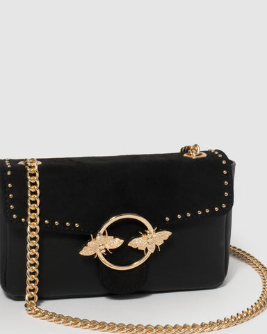 Black Alexandre Crossbody Bag