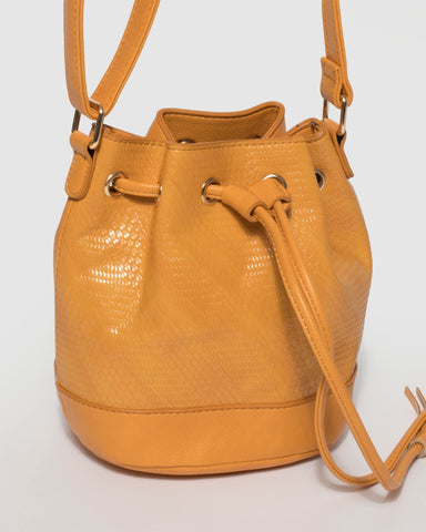 Yellow Tali Multi Drawstring
