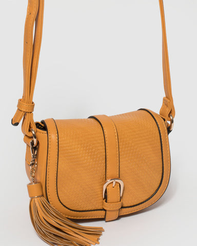 Yellow Kia Mini Saddle Bag