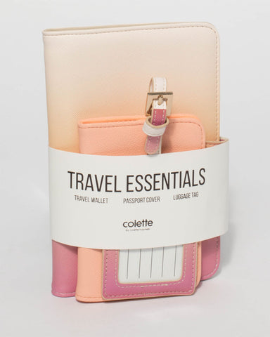 Pink Orange Vacay Travel Pack