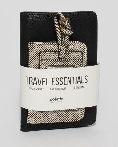 Monochrome Vacay Travel Pack