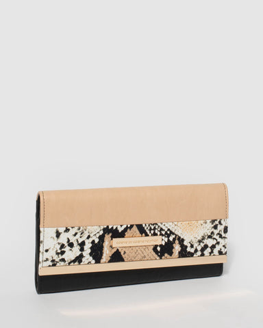 Multi Python Natalie Plate Wallet