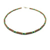 Teething Necklace - Hazelwood - Green and Blue Teething, Pure Hazelwood