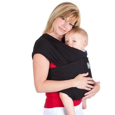 Black Stretchy Boba Wrap Carriers, Boba