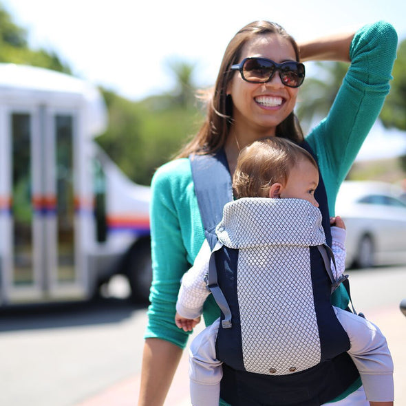 Navy Cool Mesh Gemini Beco Baby Carrier (2018)