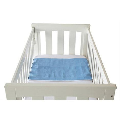 Cot Pad With Wings - Blue Cot Pad, Brolly Sheets