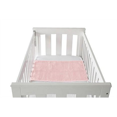 Cot Pad With Wings - Crystal Pink Cot Pad, Brolly Sheets