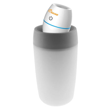 Mini Travel Ultrasonic Humidifier - White Humidifier, Crane