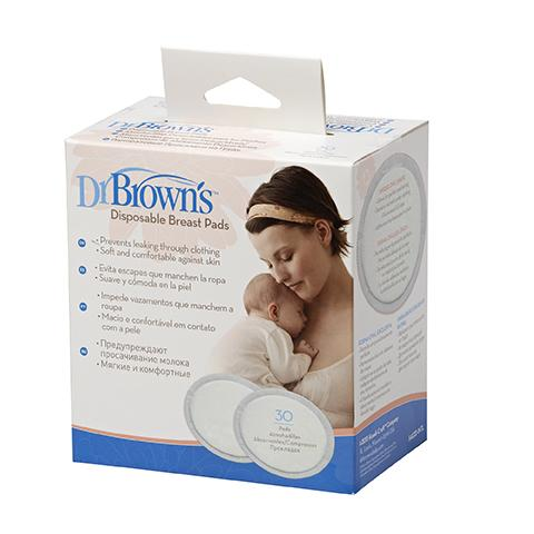 Dr Brown's Disposable Breast Pads - 30 Pack Breast Pads, Dr Brown's