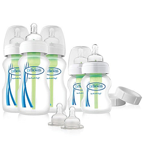 Dr Brown's Options Newborn Feeding Set Wide Neck