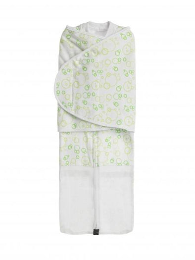 Summer Dream Swaddle - Green Bubbles Swaddle, Mum2Mum