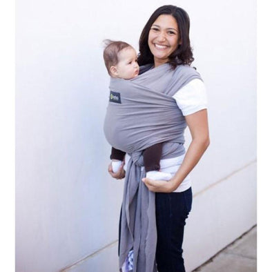 Grey Stretchy Boba Wrap Carriers, Boba