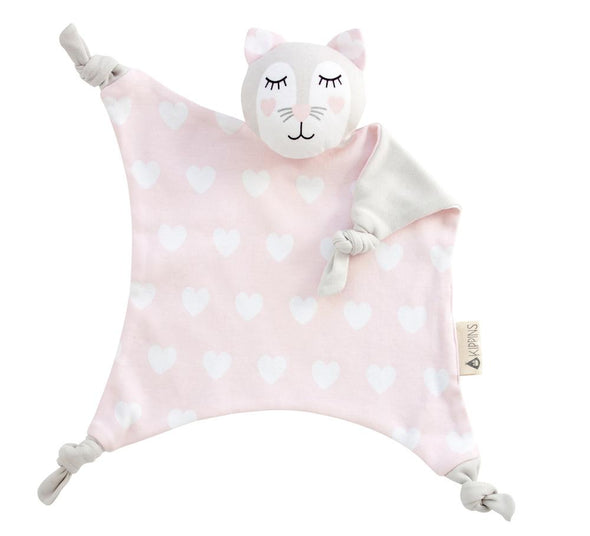 Kitty Kippin - Cat Hearts Organic Comforter Comforter, Kippins