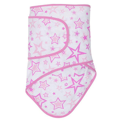 Miracle Blanket - Pink Stars Swaddle, Miracle Blanket
