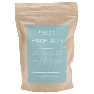 NATURAL EPSOM SALTS 500G