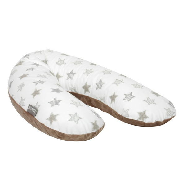 Nursing Pillow - Taupe Stars