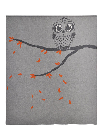 Cotton Owl Blanket
