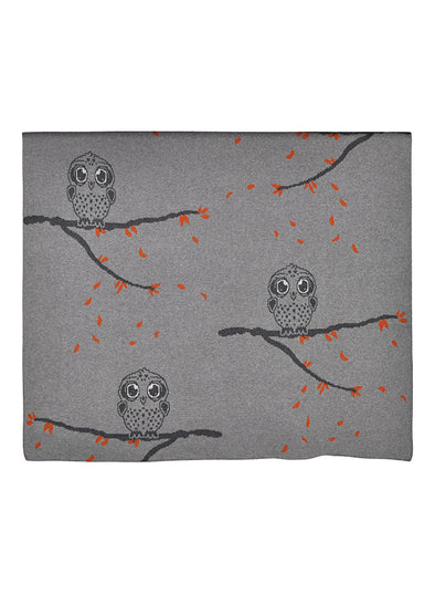 Cotton Owl Blanket (Multi)