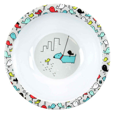 Melamine Bowl - Urban Bird