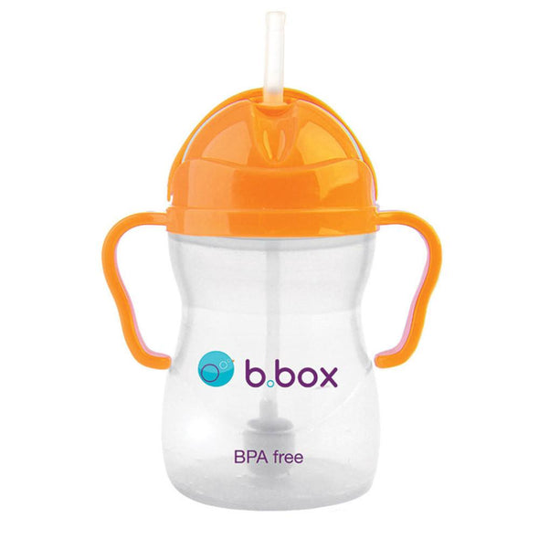 b.box Sippy Cup - Neon Orange Zing Sippy Cup, b.box