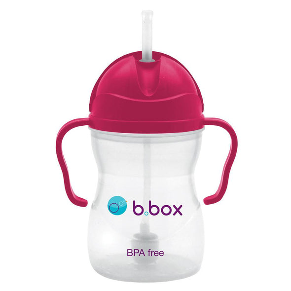b.box Sippy Cup - Raspberry Sippy Cup, b.box