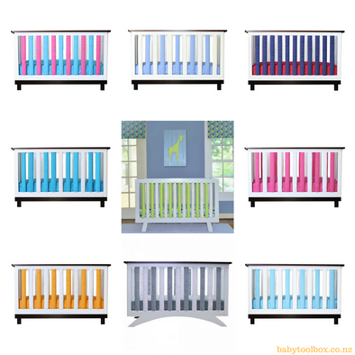 Vertical Crib Liners - 2 Pack