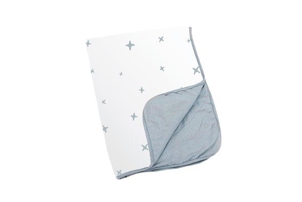Baby Blankets with Blue Birds from Baby Toolbox