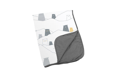 Doomoo Dream Cotton Blanket Bear