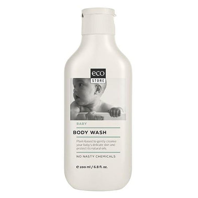 Eco Store Baby Body Wash 200ml Baby Bath, Eco Store