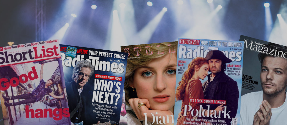 What's Hot this month in the World of Magazines July 2017