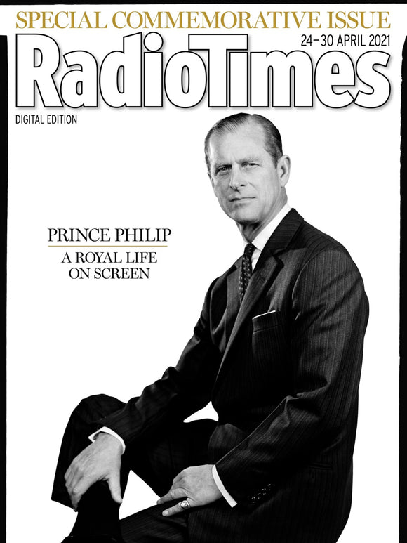PRINCE PHILIP TRIBUTE ISSUE: UK Radio Times Magazine 24th April 2021
