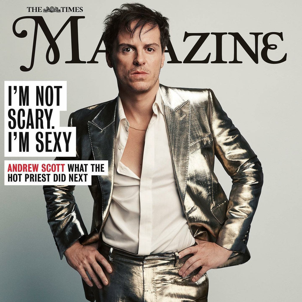 TIMES magazine November 2020 Andrew Scott cover and interview