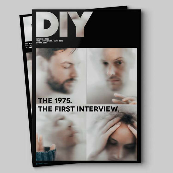 UK DIY Magazine June 2018: THE 1975 MATT Matty Healy COVER FEATURE