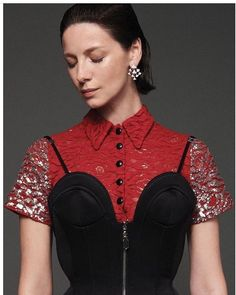 GLASS Magazine Autumn 2019: Caitriona Balfe Shoot