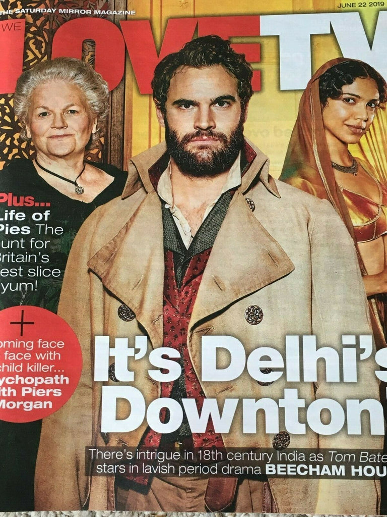 Love TV Magazine 06/2019: BEECHAM HOUSE Tom Bateman LESLEY NICOL Navratilova
