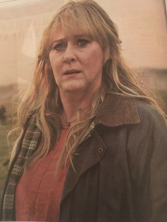 Kiri SARAH LANCASHIRE Photo Interview December 30th 2017 Christopher Nolan