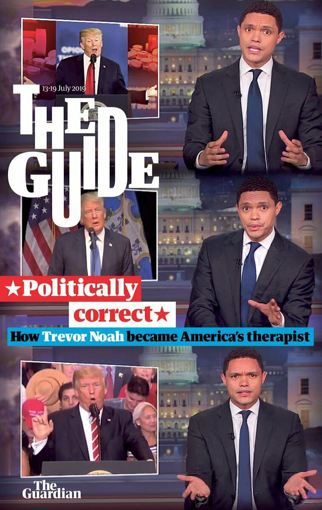 UK Guardian Guide July 2019: TREVOR NOAH COVER AND FEATURE Travis Fimel Vikings