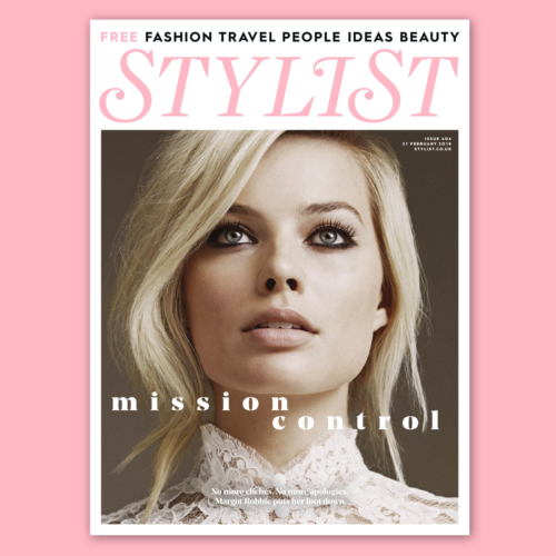 UK Stylist Magazine February 2018 MARGOT ROBBIE UK COVER INTERVIEW