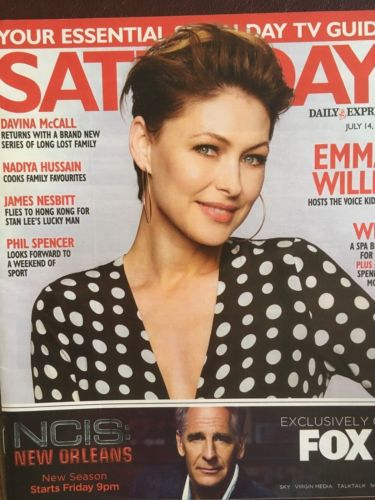 UK SATURDAY 07/2018 EMMA WILLIS Rupert Penry-Jones SUSAN HAMPSHIRE James Nesbitt